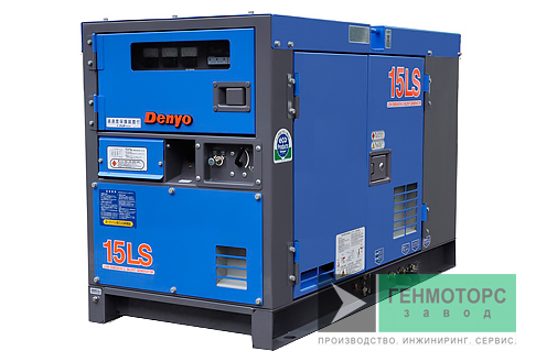 Дизельный генератор (электростанция) DENYO DCA-15LSK